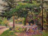 children-in-a-garden-at-eragny-camille-pissarro