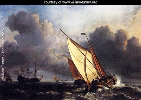 dutch-fishing-boats-in-a-storm-