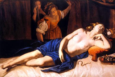 cleopatra-artemisia-gentileschi-