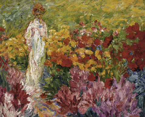 -flower-garden-woman-in-white-dress-en-face-emil-nolde