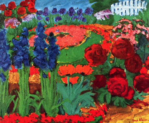 flower-garden-1922-emil-nolde