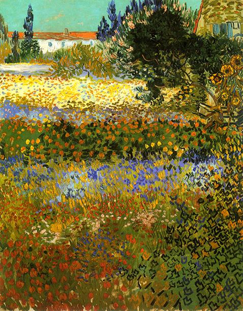 flowering-garden-vincent-van-gogh-