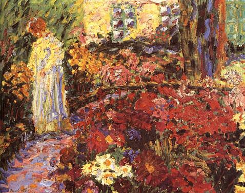 in-the-flower-garden-emil-nolde