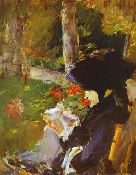 mother-in-the-garden-at-bellevue-edouard-manet-