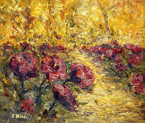 small-rose-garden-emil-nolde