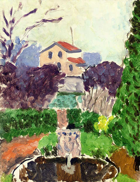 the-artists-garden-at-issy-les-moulineaux-henri-matisse