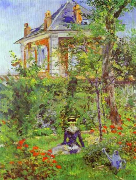the-garden-at-bellevue-edouard-manet-