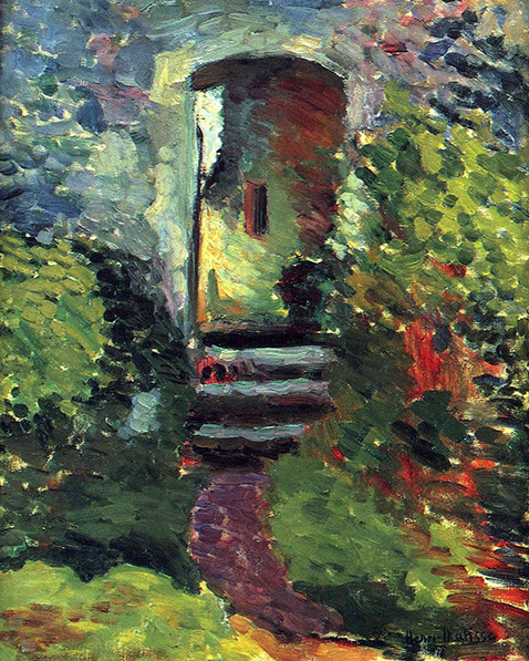 the-little-gate-of-the-old-mill-henri-matisse