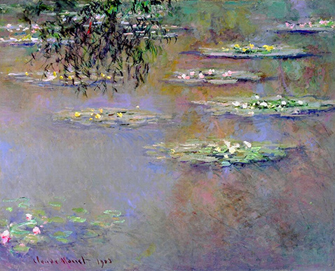 water-lilies-claude-monet-