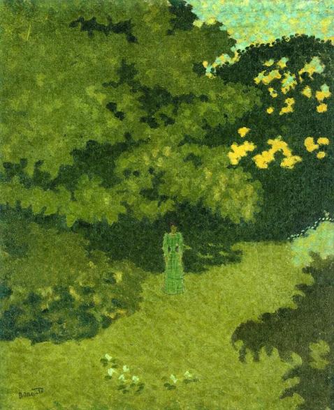 woman-in-a-green-dress-in-a-garden-pierre-bonnard
