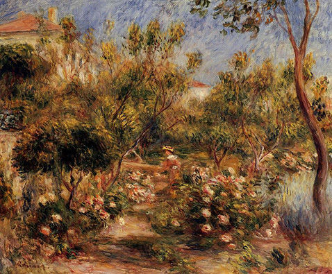 young-woman-in-a-garden-cagnes-auguste-renoir-